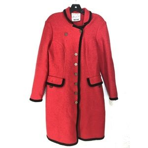 B29 MOSCHINO Vintage Red Jacket Blazer Medium